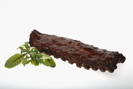 Gegrilde spare ribs pikant